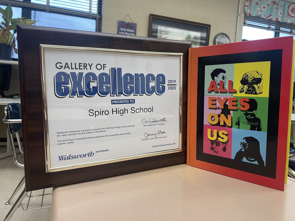 SHS YEARBOOK INDUCTED INTO THE WALSWORTH GALLERY OF EXCELLENCE
